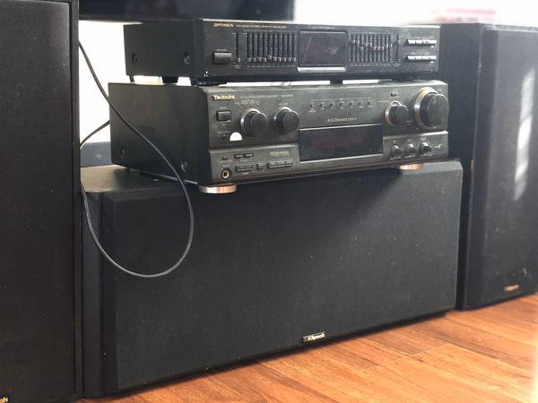 Klipsch 2.5 Channel Speaker Set with EQ, RCV