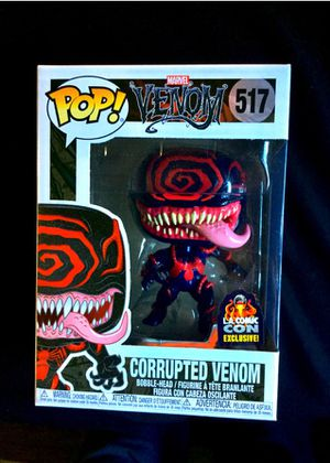 Corrupted venom pop(free marvel mystery gift included) for Sale in Downey, CA