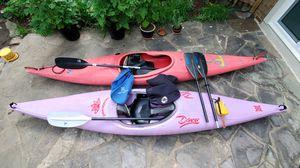 2 full kayak setups, $150 each for Sale in Washington, DC