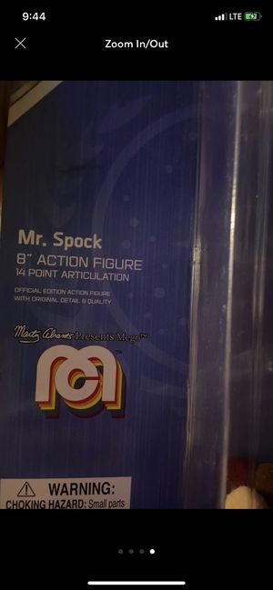 Mr. Spock action figure for Sale in New York, NY