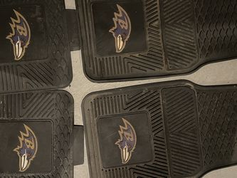 Baltimore Ravens Rubber Car Mats Set Of 4 for Sale in Cranston,  RI