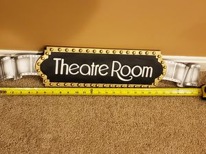 Theater themed wall art for Sale in Frederick, MD