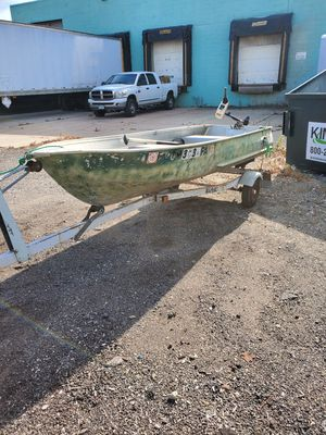Boat, 12 foot with trailer. for Sale in Chagrin Falls, OH