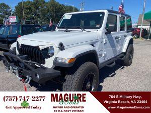 2018 Jeep Wrangler Unlimited for Sale in Virginia Beach, VA