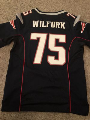 Vince Wilfork #75 Patriots NFL Nike Jersey Size 44 for Sale in Keizer, OR