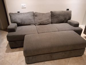 Sofa and entertainment center for Sale in Hayward, CA