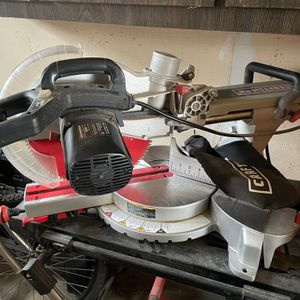 Craftsman 12in Sliding Compound Miter Saw for Sale in Massapequa, NY
