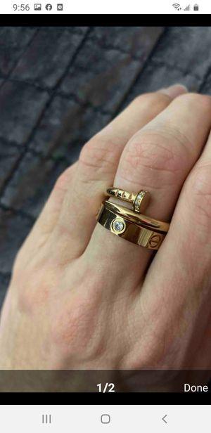 Titanium love rings for Sale in Montebello, CA