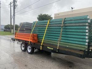 12ft heavy duty pallet rack uprights for Sale in Doral, FL