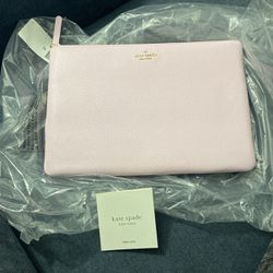 Pink kate Spade Large Zip Pouch for Sale in Tysons,  VA