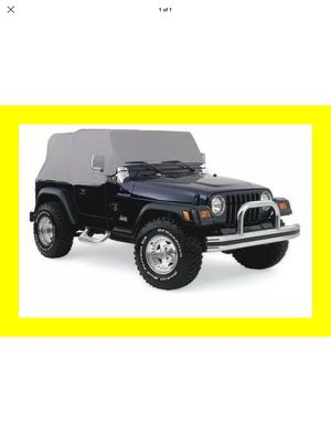 Rampage Jeep Cover for Soft Top Cab for Sale in Quincy, IL