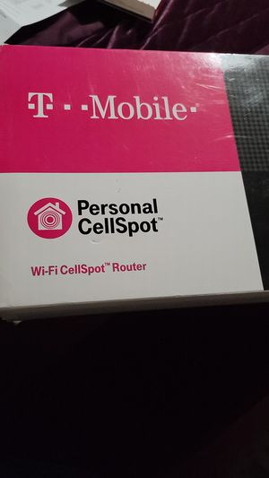 T-Mobile Asus TM-AC1900 Dual Band Wireless Router Personal Cellspot WiFi Calling for Sale in Denver, CO