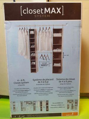 ClosetMax System 3 Piece Closet Organizer for Sale in Santa Ana, CA