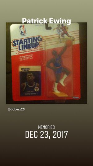 Patrick Ewing ! Starting lineup 1980s action figure. Kenner sports for Sale in Venice, FL