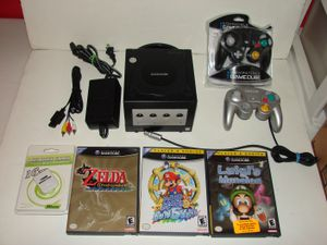 Nintendo Gamecube Bundle (Mario, Zelda, Luigis Mansion) for Sale in Grove City, OH