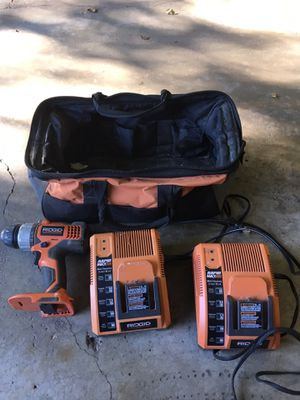 Ridgid chargers for Sale in Cold Spring, MN