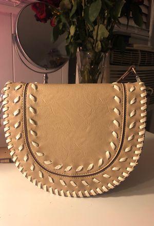 Beige crossbody purse for Sale in Corona, CA