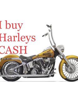 Harley Only (I Buy Parts, Basket Cases, Complete) for Sale in Las Vegas,  NV
