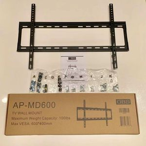 "New LCD LED Plasma Flat Fixed TV Wall Mount stand 32 37"" 40"" 42 46"" 47 50"" 52 55"" 60 65"" inch tv television bracket 100lbs capacity for Sale in Whittier, CA"