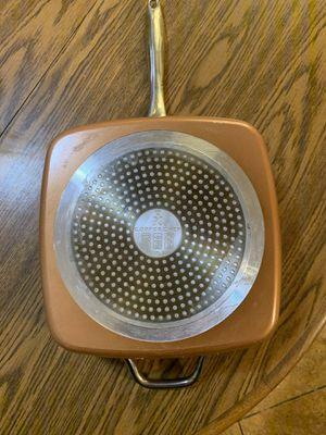 Copper chef square pot for Sale in Phoenix, AZ
