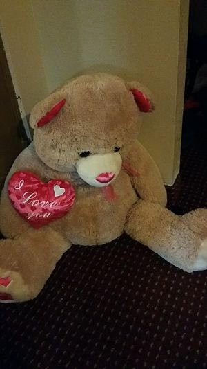 Big teddy bear say i love you for Sale in Tampa, FL