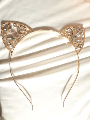 Cat ear crystal headband for Sale in Queen Creek, AZ