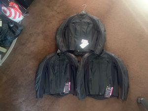 New woman scorpion leather motorcycle jackets for Sale in Huntington Park, CA