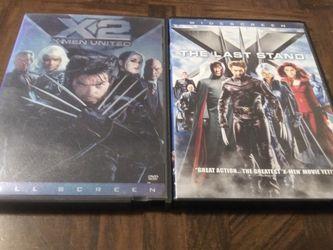 DVD X-Men 2 & 3 for Sale in Fresno,  CA