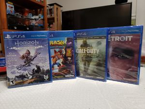 PS4 + Xbox 360 Games - New and Sealed for Sale in Klamath Falls, OR