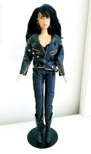Selena Doll w/black leather outfit for Sale in Fontana, CA