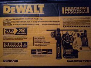"DeWalt 1"" SDS Rotary Hammer 20v XR Brushless for Sale in Oroville, CA"