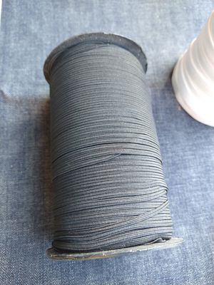 "Black Color Elastic Band Elastic Cord 1/8"" inches Thin for Facemask for Sale in Los Angeles, CA"