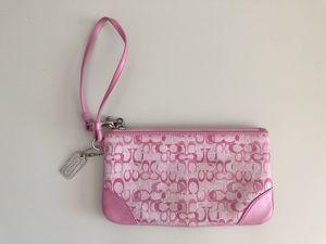 Pink Coach Wristlet for Sale in Denver, CO