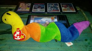 "Ty beanie baby from the 90s: ""Inch"" born 9-3-95 for Sale in Portland, OR"