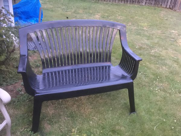 Beautiful Black Patio Couch For Sale In Everett Wa Offerup