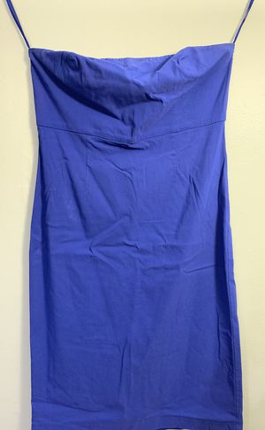 Strapless blue dress for Sale in Franconia, VA