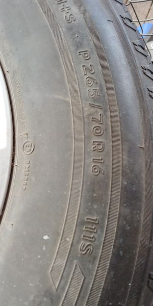 Nissan Frontier Xterra wheel tire set for Sale in Wichita, KS