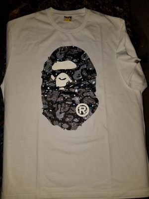 Bape T-shirt size 1-2XL and 1-medium, 1 -Small for Sale in Houston, TX