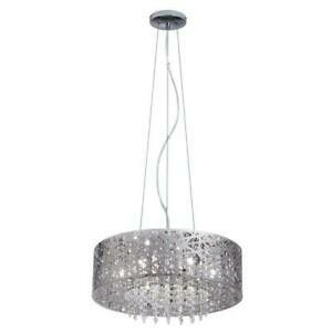 Home Decorators Collection 7-Light Mirrored Stainless Steel Pendant for Sale in Newark, NJ