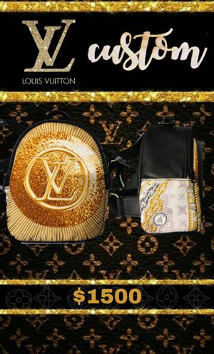 🥶🥶Louis Vuitton mini bag pack 🥶🥶All Gold for Sale in Dallas, TX