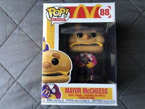 FUNKO POP AD ICONS McDONALD'S MAYOR McCHEESE Vinyl Figure Collectible Toy for Sale in Los Banos, CA