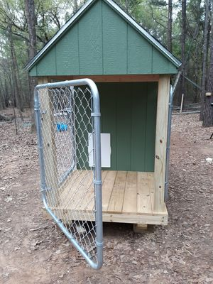New, custom kennels. By French and Son for Sale in Overton, TX