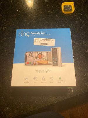 Ring Peephole Camera for Sale in Charlotte, NC