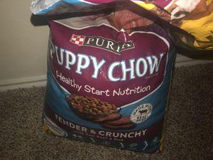Purina puppy chow for Sale in Grand Prairie, TX