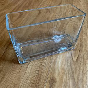 RECTANGULAR GLASS VASE for Sale in Carlsbad, CA