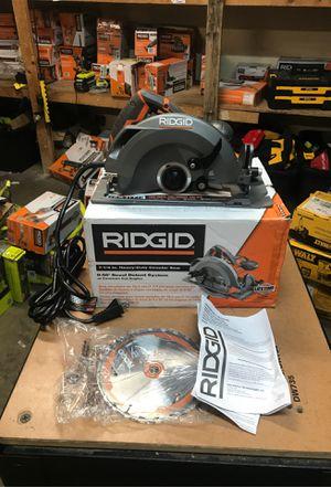 RIDGID 15 Amp 7-1/4 in. Circular Saw for Sale in Fontana, CA