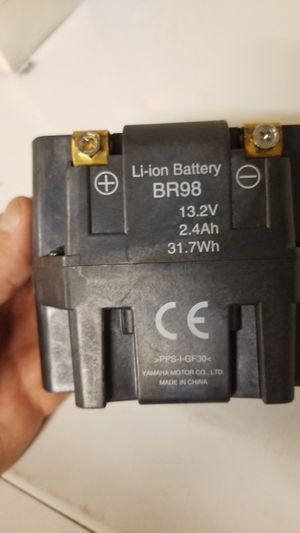 Yamaha BR98 lithium motorcycle battery for Sale in Las Vegas, NV