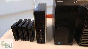 We have got desktops netbooks and even tablets. We reuse & renovated enterprise grade machines. for Sale in Peoria, AZ
