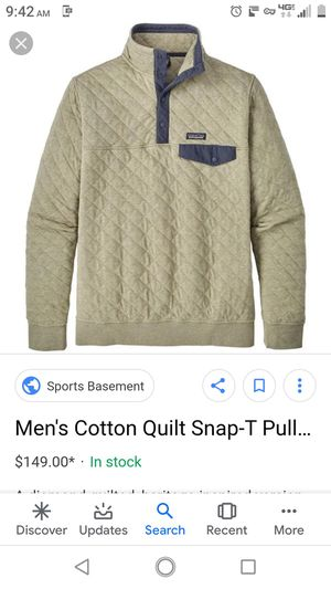 Patagonia xl pullover for Sale in Puyallup, WA