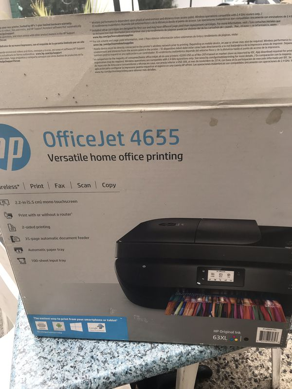 USED HP OFFICEJET ALL IN ONE 4655
